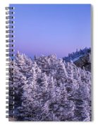 Mount Liberty Blue Hour Panorama Spiral Notebook