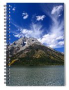 Mount Moran From Leigh Lake Spiral Notebook