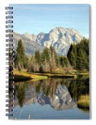 Mount Moran Reflections Spiral Notebook