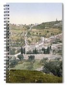 Mount Of Olives, C1900 Spiral Notebook