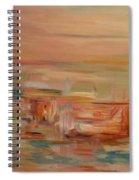Mount Olympus Spiral Notebook
