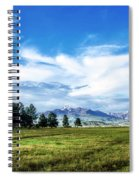 Mount Pagosa Meadow Spiral Notebook