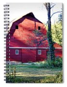 Mount Pleasant Road Barn Spiral Notebook