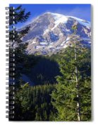 Mount Raineer 1 Spiral Notebook