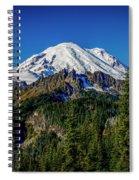 Mount Rainier - Eastside Spiral Notebook