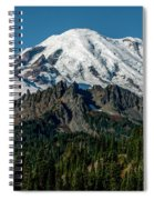 Mount Rainier - Cowilitz Chimneys  Spiral Notebook