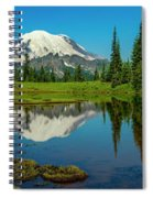 Majestic Reflection - Mount Rainier - 2 Spiral Notebook
