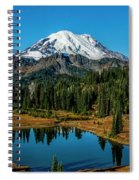 Natures Reflection - Mount Rainier Spiral Notebook