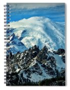 Early Snow - Mount Rainier  Spiral Notebook
