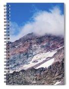 Mount Rainier Closeup Spiral Notebook
