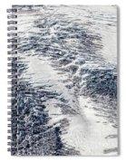 Mount Rainier Glacier Abstract Spiral Notebook