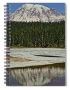 Mount Rainier Reflection Lake Spiral Notebook