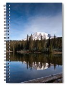 Mount Rainier Reflection Spiral Notebook
