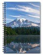 Mount Rainier Reflections Spiral Notebook