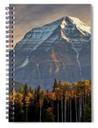 Mount Robson Spiral Notebook