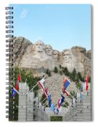 Mount Rushmore Entrance  8713 Spiral Notebook