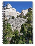 Mount Rushmore II Spiral Notebook