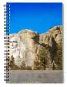 Mount Rushmore National Memorial Spiral Notebook