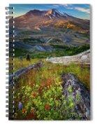 Mount Saint Helens Spiral Notebook
