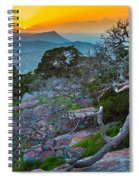 Mount Scott Sunset Spiral Notebook