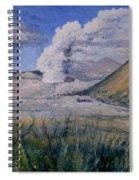 Mount Semeru Bromo And Batok Jawa Timor Indonesia 2008 Spiral Notebook