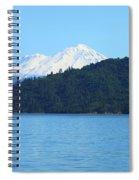 Mount Shasta And Shasta Lake Spiral Notebook