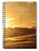 Mount Shasta Sunrise Spiral Notebook
