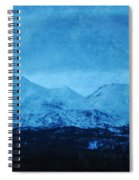 Mount Shasta Twilight Spiral Notebook