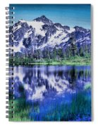 Mount Shuksan And Picture Lake Spiral Notebook