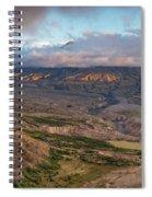 Mount St Helen Spiral Notebook