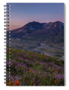 Mount St Helens Renewal Spiral Notebook