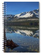 Mount Tallac And Fallen Leaf Lake Spiral Notebook