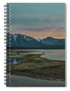 Mount Tallac At Sunset Spiral Notebook