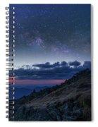 Mount Washington Summit Milky Way Panorama Spiral Notebook