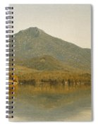 Mount Whiteface From Lake Placid Spiral Notebook