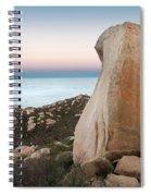 Mount Woodson At Dawn Spiral Notebook
