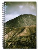 Mount Zeehan Tasmania Spiral Notebook