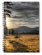 Mountain Afternoon Spiral Notebook