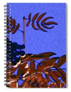 Mountain Ash Design Spiral Notebook