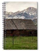 Mountain Barn Spiral Notebook