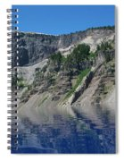 Mountain Blue Spiral Notebook