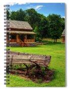 Mountain Cabin - Rural Idaho Spiral Notebook