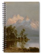 Mountain Canoeing Spiral Notebook