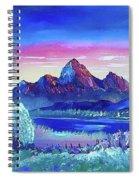 Mountain Dreams Meow Spiral Notebook