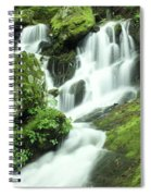 Mountain Falls Spiral Notebook