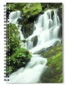 Mountain Falls Spiral Notebook