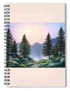 Mountain Firs Spiral Notebook