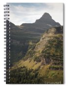 Mountain Glacier Spiral Notebook