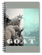 Mountain Goats Spiral Notebook