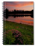 Mountain Heather Reflections Spiral Notebook